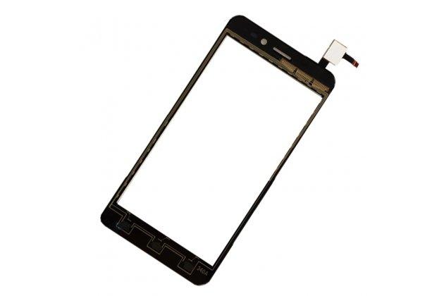 Фирменное сенсорное-стекло-тачскрин на Explay A500 черный + инструменты для вскрытия + гарантия