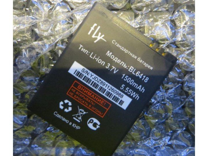 Фирменная аккумуляторная батарея 1500mAh BL6418 на телефон Fly FS403 Cumulus 1 / Fly FS404 Stratus 3 + инструм..