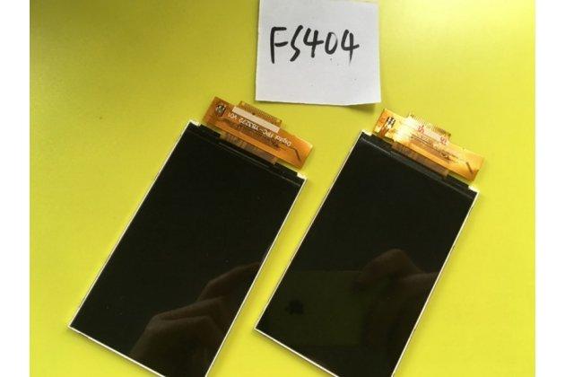 Фирменный LCD-ЖК-сенсорный дисплей-экран-стекло с тачскрином на телефон Fly FS404 Stratus 3 черный + гарантия