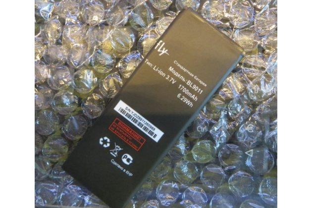 Фирменная аккумуляторная батарея 1700mAh BL9011 на телефон Fly FS406 Stratus 5 + инструменты для вскрытия + гарантия