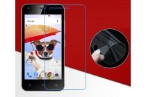 Фирменная оригинальная защитная пленка для телефона Fly FS454 Nimbus 8 глянцевая