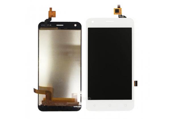 Фирменный LCD-ЖК-сенсорный дисплей-экран-стекло с тачскрином на телефон Fly FS454 Nimbus 8 белый + гарантия