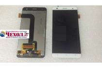 Фирменный LCD-ЖК-сенсорный дисплей-экран-стекло с тачскрином на телефон Fly Cirrus 4 (FS507) белый + гарантия