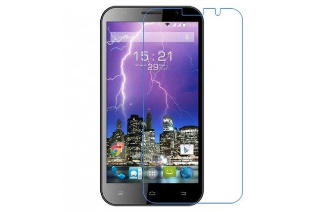Фирменная оригинальная защитная пленка для телефона Fly FS551 Nimbus 4 глянцевая