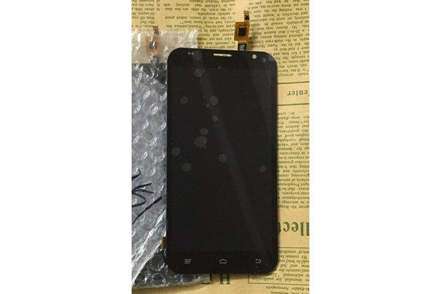Фирменный LCD-ЖК-сенсорный дисплей-экран-стекло с тачскрином на телефон Fly FS551 Nimbus 4 черный + гарантия