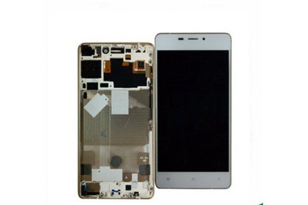 Фирменный LCD-ЖК-сенсорный дисплей-экран-стекло с тачскрином на телефон Fly IQ4516 Tornado Slim Octa белый + гарантия