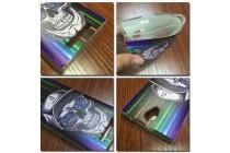 """Фирменная уникальная задняя панель-крышка-накладка из тончайшего силикона для Wileyfox Swift с объёмным 3D рисунком тематика """"Космический Череп"""""""