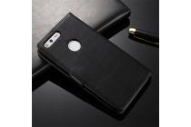 Фирменный чехол-книжка из качественной импортной кожи с мульти-подставкой застёжкой и визитницей для Google Pixel/HTC Google Nexus 2016/ HTC Nexus S1 черный