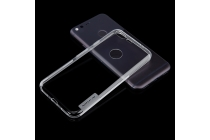Фирменная ультра-тонкая полимерная из мягкого качественного силикона задняя панель-чехол-накладка для Google Pixel/HTC Google Nexus 2016/ HTC Nexus S1 белого цвета