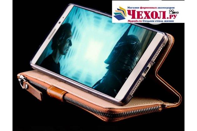 Фирменный чехол-портмоне-клатч-кошелек на силиконовой основе из качественной импортной кожи розовый для Google Pixel 2 XL