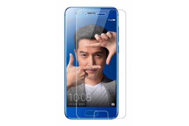 Фирменная оригинальная защитная пленка для телефона Huawei Honor 9 глянцевая