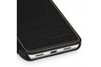 Фирменный чехол-футляр-книжка для Google Pixel XL/HTC Google Nexus Marlin M1 чёрного цвета