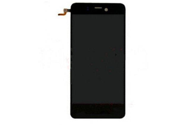 Фирменный LCD-ЖК-сенсорный дисплей-экран-стекло с тачскрином на телефон Highscreen Alpha Ice черный