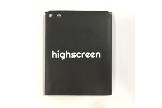 Фирменная аккумуляторная батарея 1500mAh на телефон Highscreen Alpha Rage