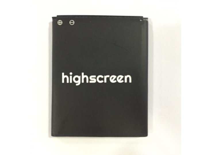 Фирменная аккумуляторная батарея 1500mAh на телефон Highscreen Alpha Rage ..