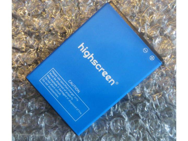 Фирменная аккумуляторная батарея 1700mAh на телефон Highscreen Easy F + инструменты для вскрытия + гарантия..