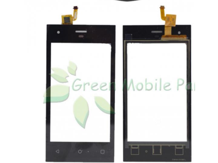 Фирменное сенсорное-стекло-тачскрин на Highscreen Easy F черный + инструменты для вскрытия + гарантия..