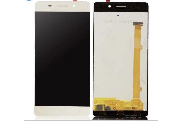 Фирменный LCD-ЖК-сенсорный дисплей-экран-стекло с тачскрином на телефон Highscreen Power Ice белый + гарантия