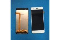 """Фирменный LCD-ЖК-сенсорный дисплей-экран-стекло с тачскрином на телефон Highscreen Tasty""""  белый + гарантия"""
