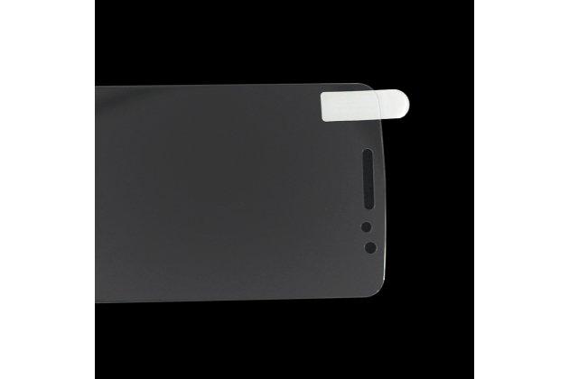 Фирменное защитное закалённое противоударное стекло премиум-класса из качественного японского материала с олеофобным покрытием для телефона HomTom HT17/ HT17 Pro