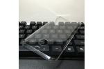 Фирменная задняя панель-крышка-накладка из тончайшего и прочного пластика для HTC 10 evo прозрачная