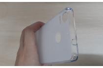Фирменная ультра-тонкая полимерная из мягкого качественного силикона задняя панель-чехол-накладка для HTC Desire 10 Pro белая