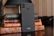 Фирменная задняя панель-крышка-накладка из тончайшего и прочного пластика для HTC Desire 10 Pro черная