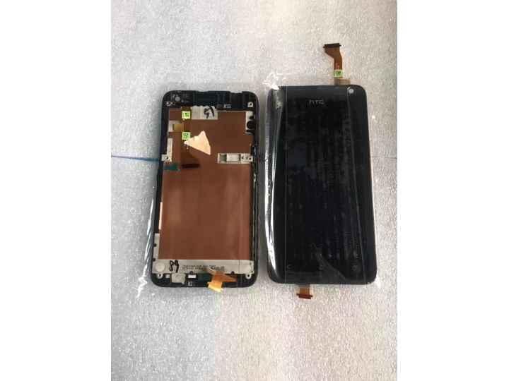 Фирменный LCD-ЖК-сенсорный дисплей-экран-стекло с тачскрином на телефон HTC Desire 501 Dual Sim черный + гаран..