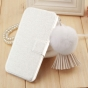 Фирменный чехол-книжка водоотталкивающий для HTC Desire 526/ 526 Dual Sim/ 526 G  белый..