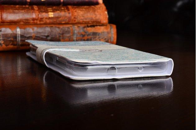 Фирменный уникальный необычный чехол-подставка для HTC One X10  тематика Винтаж