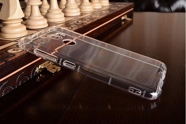 Фирменная ультра-тонкая полимерная из мягкого качественного силикона задняя панель-чехол-накладка для HTC One X10 прозрачная
