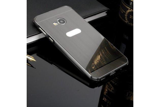 Фирменная металлическая задняя панель-крышка-накладка из тончайшего облегченного авиационного алюминия для LG G6+ /G6 plus серебристая
