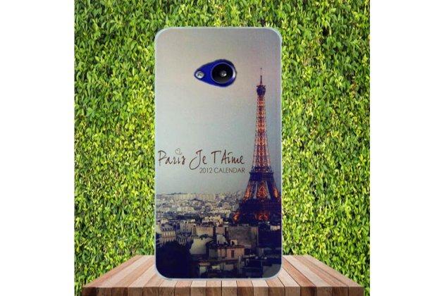 """Фирменная ультра-тонкая полимерная из мягкого качественного силикона задняя панель-чехол-накладка для HTC U Play"""" тематика """"Париж"""""""