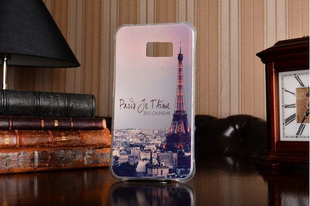 """Фирменная ультра-тонкая полимерная из мягкого качественного силикона задняя панель-чехол-накладка для HTC U Ultra тематика """"Париж"""""""