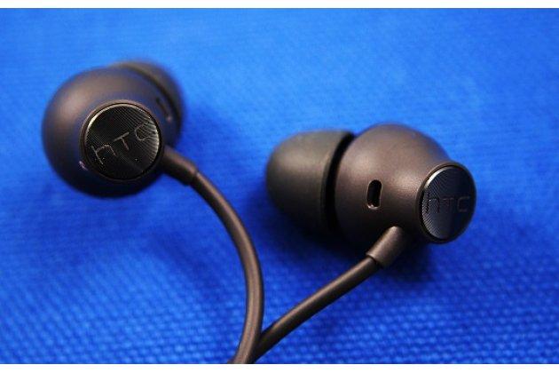 Фирменные оригинальные наушники-вкладыши HTC U Ultra с микрофоном и переключателем песен