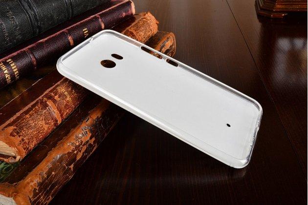 Фирменная роскошная задняя панель-чехол-накладка  из мягкого силикона с безумно красивым расписным 3D рисунком на HTC U11 тематика Калькулятор
