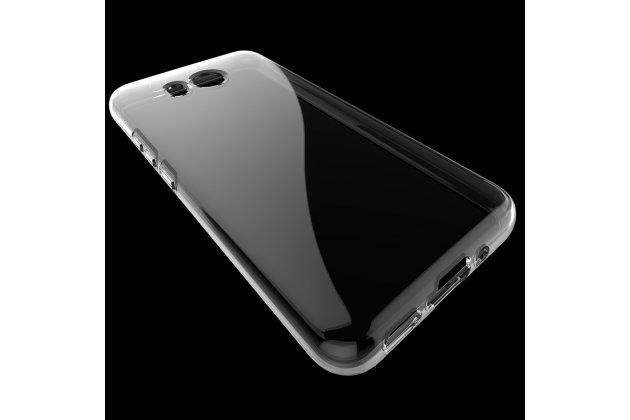 Фирменная ультра-тонкая полимерная из мягкого качественного силикона задняя панель-чехол-накладка для HTC U11 прозрачная