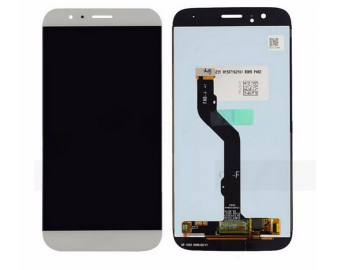 Фирменный LCD-ЖК-сенсорный дисплей-экран-стекло с тачскрином на телефон Huawei Ascend G8 (RIO-AL00 /D199) белы..