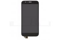 Фирменный LCD-ЖК-сенсорный дисплей-экран-стекло с тачскрином на телефон Huawei Ascend G8 (RIO-AL00 /D199) черный + гарантия