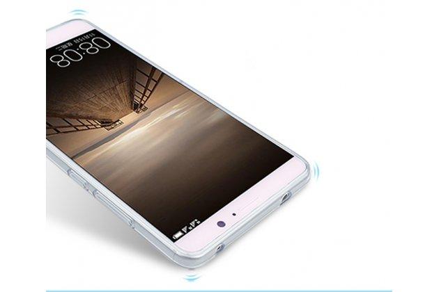 """Фирменная роскошная задняя панель-чехол-накладка из мягкого силикона с изображением на Huawei Enjoy 7 Plus/ Y7 Prime c безумно красивым рисунком """"Водяная роза"""""""