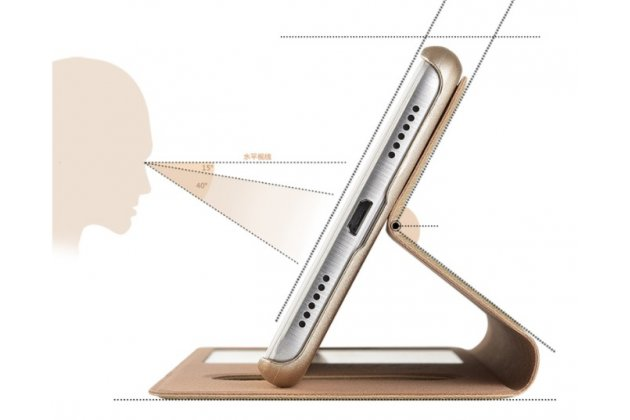 Фирменный чехол-книжка для Huawei Enjoy 7 Plus/ Y7 Prime красный с окошком для входящих вызовов и свайпом водоотталкивающий