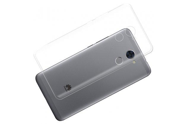 Фирменная ультра-тонкая полимерная из мягкого качественного силикона задняя панель-чехол-накладка для Huawei Enjoy 7 Plus/ Y7 Prime