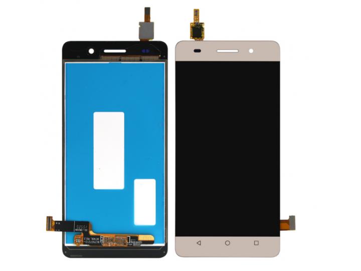 Фирменный LCD-ЖК-сенсорный дисплей-экран-стекло с тачскрином на телефон Huawei Honor 4A (SCL-TL00h) золотой + ..