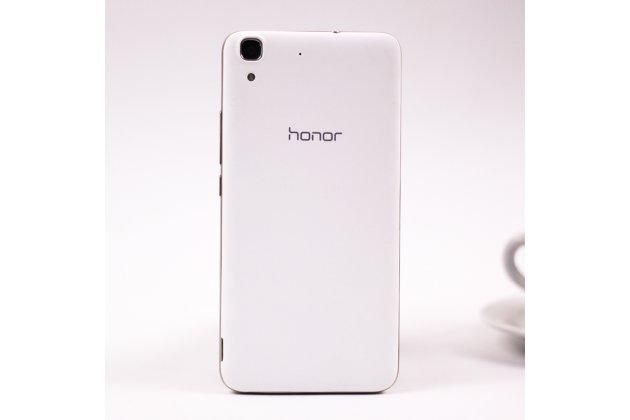 Родная оригинальная задняя крышка-панель которая шла в комплекте для Huawei Honor 4A (SCL-TL00h) белая