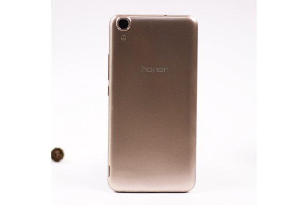Родная оригинальная задняя крышка-панель которая шла в комплекте для Huawei Honor 4A (SCL-TL00h) золотая