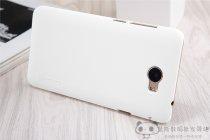 Фирменная задняя панель-крышка-накладка из тончайшего и прочного пластика для Huawei Honor 5A 5.0 ( LYO-L21) / Huawei Y5 2 (II) LTE белая