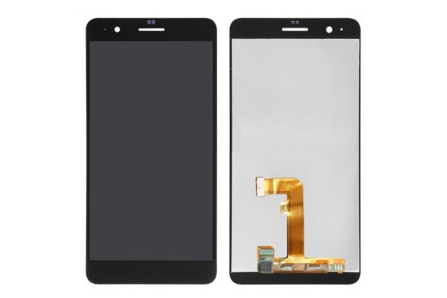 Фирменный LCD-ЖК-сенсорный дисплей-экран-стекло с тачскрином на телефон Huawei Honor 6 Plus черный + гарантия