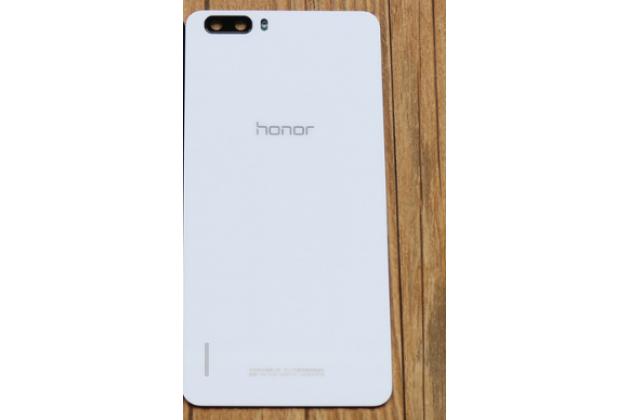 Родная оригинальная задняя крышка-панель которая шла в комплекте для Huawei Honor 6 Plus белая