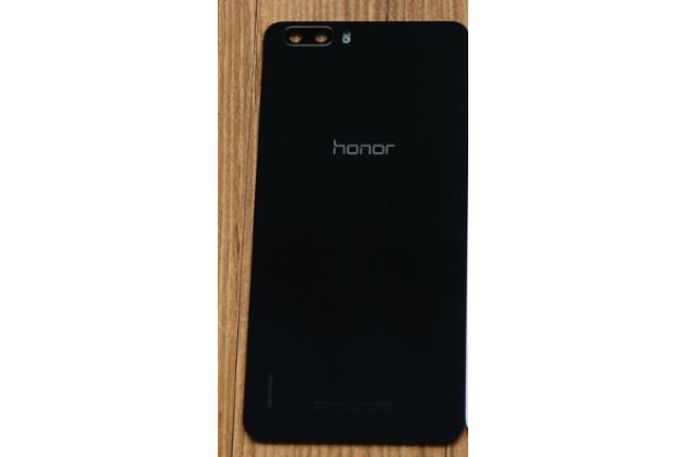 Родная оригинальная задняя крышка-панель которая шла в комплекте для Huawei Honor 6 Plus черная