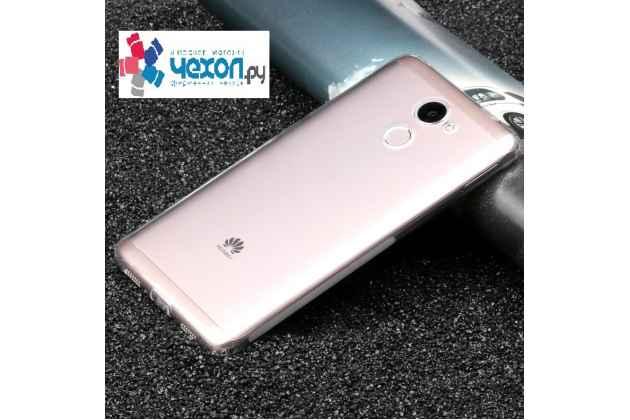 Фирменная ультра-тонкая полимерная из мягкого качественного силикона задняя панель-чехол-накладка для Huawei Honor 6A прозрачная